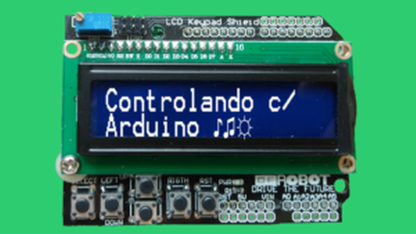 display lcd capa