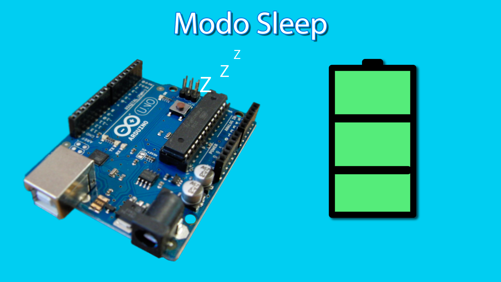 modo sleep do arduino