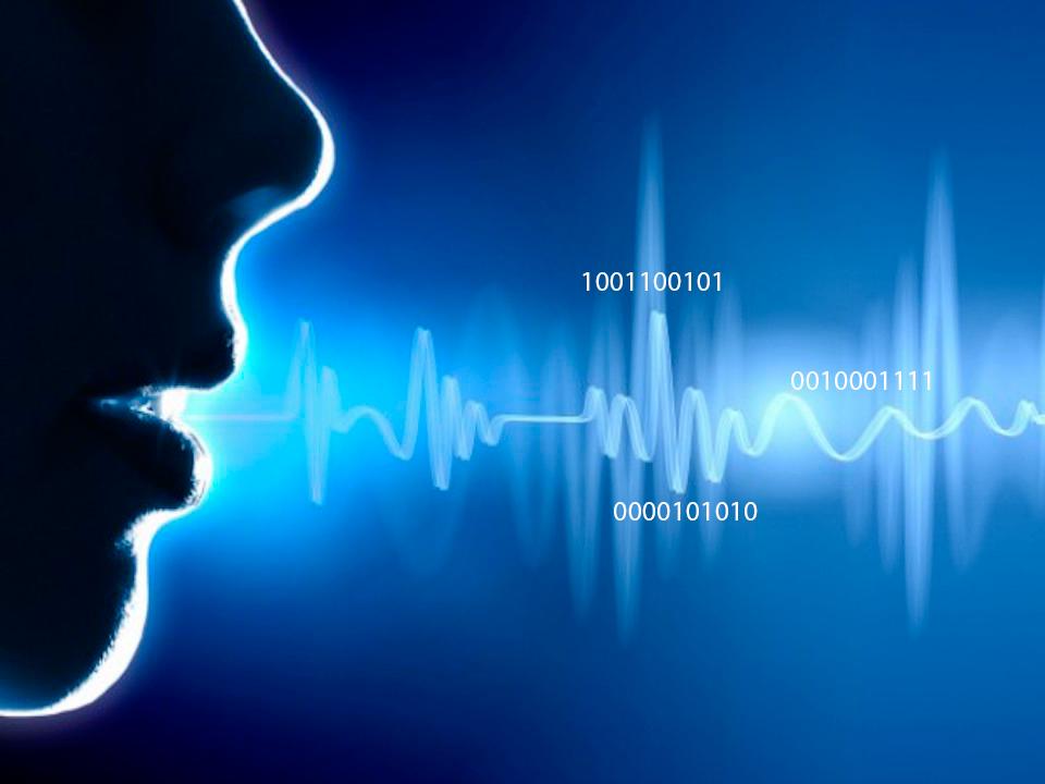 reconhecimento de voz ilustrativo