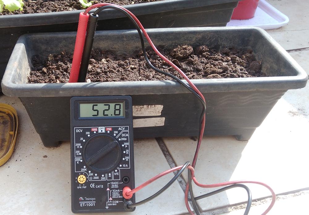 umidade do solo seco resistência