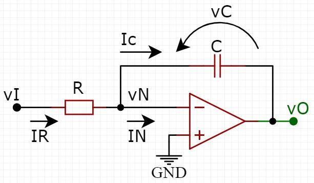 Amplificador operacional como integrador