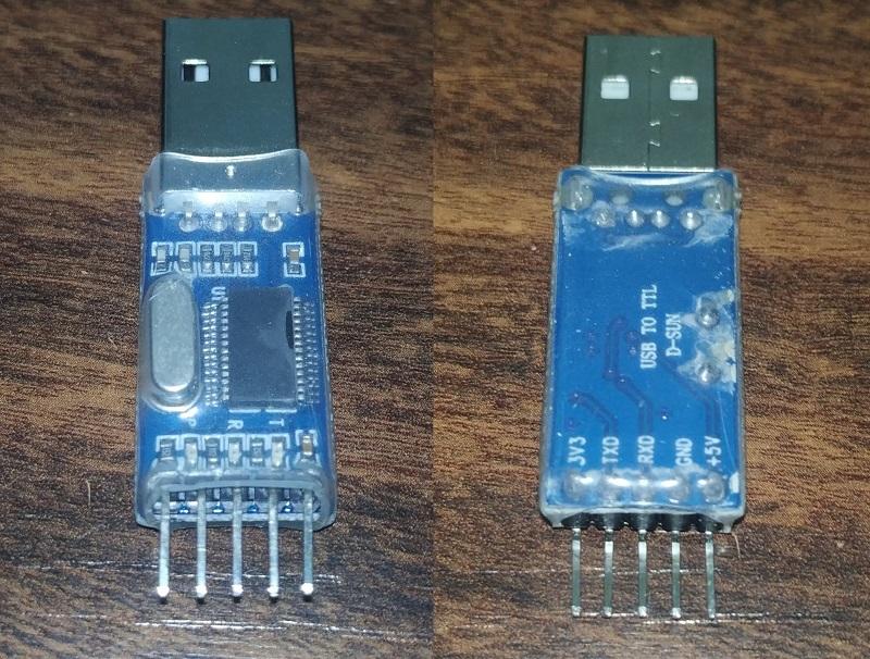 Conversor USB para TTL