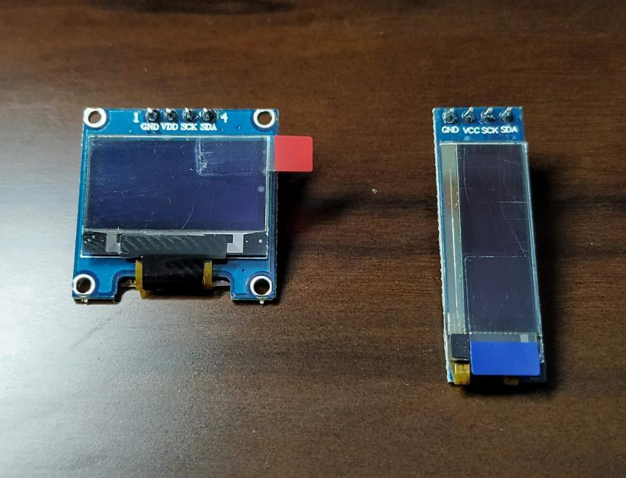 Display OLED módulos