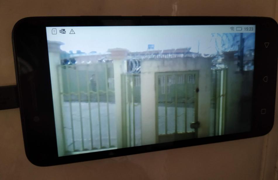 CFTV em funcionamento