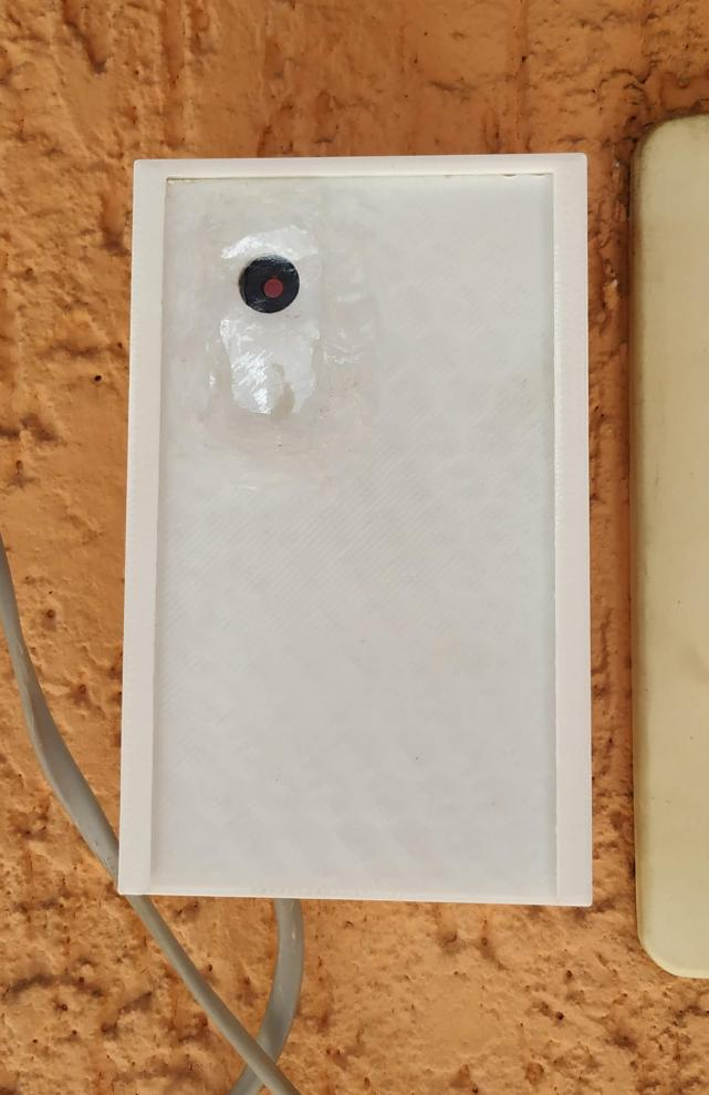 ESP32 CFTV solar finalizado